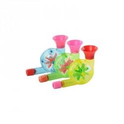 Дудка ST 0010 (3 цвета, в кульке, 7,5-5,5-3см