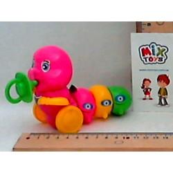 Заводная игрушка Гусеница, 3602, в кульке, 12-6см