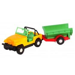Авто-джип з причепом(кузов)