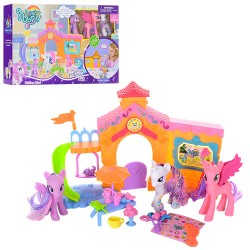 "Замок OSB8032 ""My Little Pony"" с аксес.куклами кор.39*8*25.5"