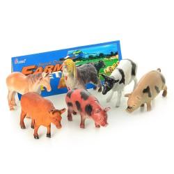 Набор животных  H 636 домашние в кульке 23см