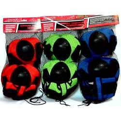 Защита MS 0032 для роликов, 4 цвета, в сетке,