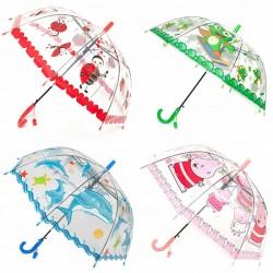 Зонтик BT-CU-0018 прозрачный 6рис.50см ш.к.