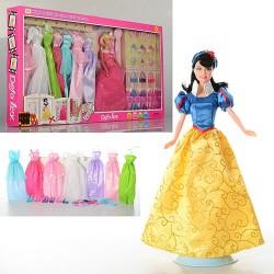 Кукла с нарядом DEFA 8263 (29см, расческа, аксессуары, подставка, 2 вида, в кор-ке,66,5-35-6см