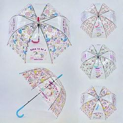 Зонтик детский C 31625 прозрачный 4 вида, 80 см