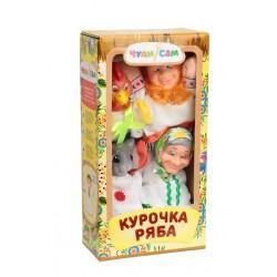 """Ляльковий театр """"КУРКА РЯБА"""" (4 персонажі)"""
