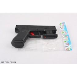 Пистолет 507-2 лазер, гелевые пульки, в пакете, 18,5*12*3см