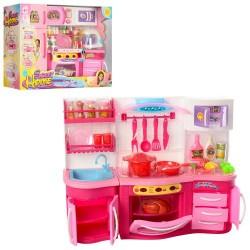 Мебель 2801LN-2803LN SL, кухня37-27-10см,посуда,продук,зв,св, 2в,на бат,в кор-ке,37-29-11,5см