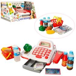 Кассовый аппарат 7300 сканер,калькулятор,продукты,корзинка,зв,на бат-ке,в кор-ке,33-19-18см