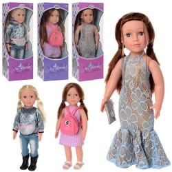 Кукла M 3957-59-60 UA  48см, муз,звук(укр),песня,стих, бат(таб), в кор-ке,50-18-12,5см