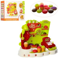 Магазин XG1-16A 47-37см, кассовый аппарат, продукты(сладости), монеты, в кор-ке, 48-39-13,5см