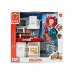 Мебель 3031-1 кухня, 27см, звук, свет, посуда, на бат-ке, в кор-ке, 30,5-29-9см
