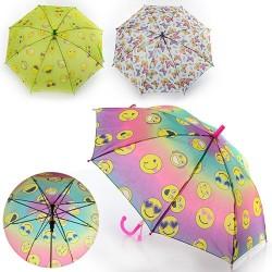 Зонтик детский MK 0862 длина49,5см,трость61см,диам.78см,спица44см,ткань,рисун,свисток,3вида