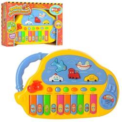 Пианино HK-988 муз, свет, на бат-ке, в кор-ке, 27-19-5,5см