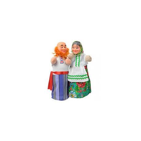 """Набір ляльок-рукавиць """"ДІД І БАБКА"""" (2 персонажі)"""