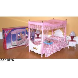 Мебель Gloria 2314 спальня свет.кор.33*18*6