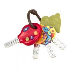 Развивающая игрушка – СУПЕР-КЛЮЧИКИ (свет, звук, томатный)