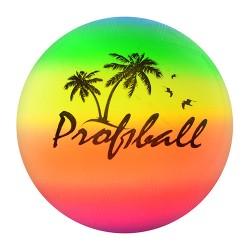 Мяч детский MS 0008 (9 дюймов, радуга волейбол, ПВХ, 100г,в кульке