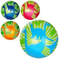 Мяч детский MS 1291 (9дюймов,дракон,полноцветный,60г,4цвета
