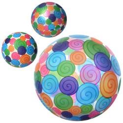 Мяч детский MS 1915 9 дюймов, рисунок, 60-65г, в кульке