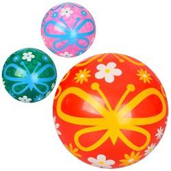 Мяч детский MS 0478-1 9 дюймов, рисунок, ПВХ, 59г, 3 цвета