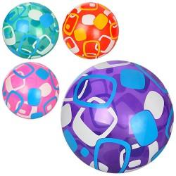 Мяч детский MS 0947-1 9 дюймов, полноцветный, ПВХ, 4цвета, 60-65г