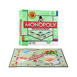 "Игра ""Монополия"" 6123 RU жетоны,карточки,деньги,фигур зданий,кубики,в кор-ке, 27-27-5см"