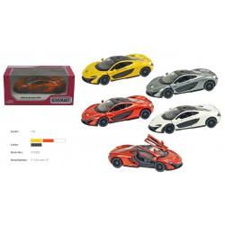 """Модель легковая 5"""" KT5393W McLaren P1 метал.инерц.откр.дв.4цв.кор."""