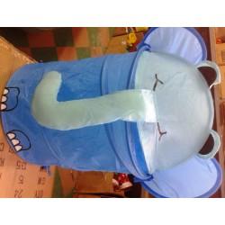 Корзина для игрушек 38*45 Голубой слон R1026