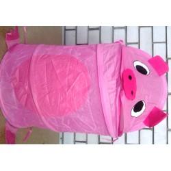 Корзина для игрушек 38*45 Свинка Пеппа розовая R1020