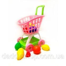 """Тележка """"М"""" с фруктами"""