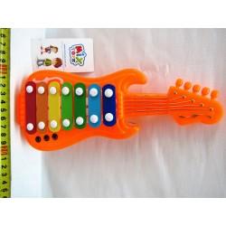 Ксилофон-гитара 9388-69, в пакете 25-12см