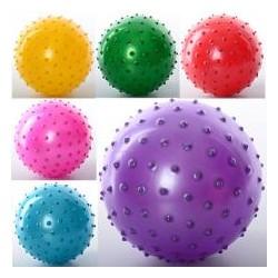Мяч массажный MS 0664 (6 дюймов, ПВХ, 45г, 6 цветов