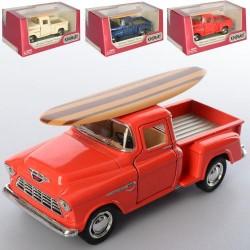 KT Машинка металл KT 5330 WS1 (24шт) металл,инер-я, 12см, резин.колеса, открыв.двери,4цв,в кор-ке,16