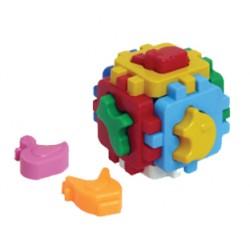 """Куб """"Умный малыш с элементами домашних животных"""""""