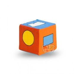 Кубик-погремушка.Геометрические фигуры