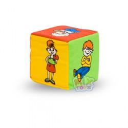 Кубик-погремушка.Дети (изучаем действия)