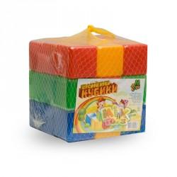 Кубики  цветные 27 шт.