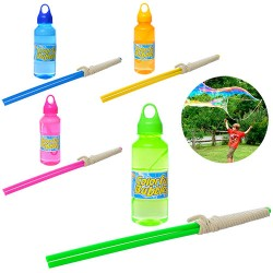 Мыльные пузыри MB 004 ( запаска 228мл, палочки 40см с веревкой, 4 цвета