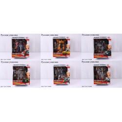 Трансформер транспорт PLAY SMART 8107/8/9/10/11/12 Великий праймбот 6в.кор.22*10*26,5