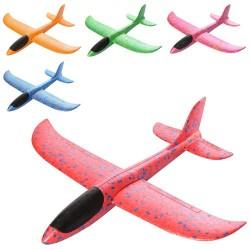 Самолет CH34 пенопласт, 32см, микс цветов, в кульке, 9-32-3см