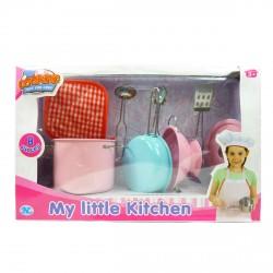 Детский кулинарный набор метал 8 предметов