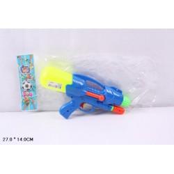 Водный пистолет 2823-13с насосом, в пакете 27*14см