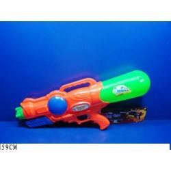 Водный пистолет A-139 с насосом, в пакете 59см