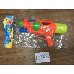 Водный пистолет LY802 ( с насосом 30 см,2 цвета,в пакете