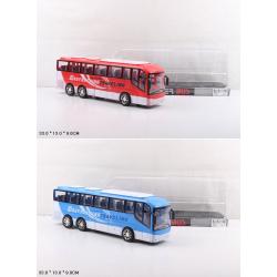 Автобус 828-A1/A2 инерц.2цв.пласт.33*9*13