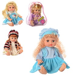 Кукла Алина 5078-79-57-68 говорит и поет по русски 4 вида
