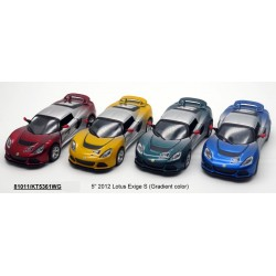 "Модель легковая  метал.инерц.откр.дв.корKT5361WG 5"" 2012 Lotus Exige S (Gradient color)"