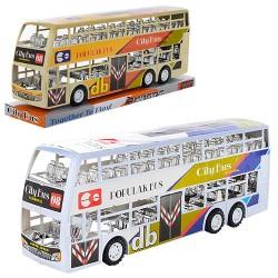 Автобус XY968P инер-й, 38см, 2цвета, в слюде, 38-13-9см
