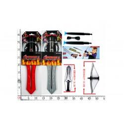 """Арбалет-меч HT15406 """"Мстители 2"""" со стрелами 2в.лист.15*40 ш.к."""